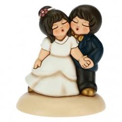 Top cake sposini danzanti - Thun