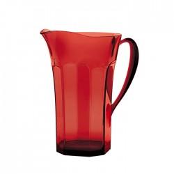 Caraffa 'belle epoque' rosso trasparente - Guzzini