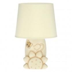 Lampada da tavolo Elegance con girasole, campanella e farfalla - Thun