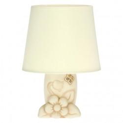 Lampada da tavolo Elegance con fiori e farfalla - Thun