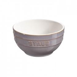 Ciotola in ceramica in ceramica grigio anticato Cm. 12 - Staub