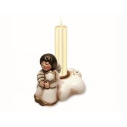 Portacandele con angelo natale - Thun