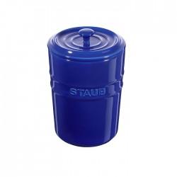Contenitore in ceramica blu - Staub