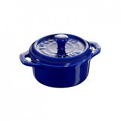 Mini cocotte in ceramica blu Cm. 10 - Staub