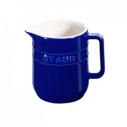 Mini brocca in ceramica blu - Staub