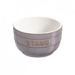 Pirottini in ceramica grigio anticato set 2 pezzi - Staub