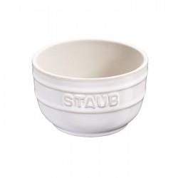 Pirottini in ceramica avorio set 2 pezzi - Staub