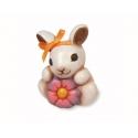 Coniglio con fiore - Thun