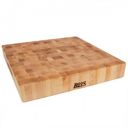 Tagliere in acero Chopping Block Cm. 46x46x7,5 - Boos Blocks