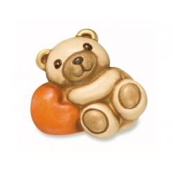 Teddy berto sdraiato su cuore - Thun
