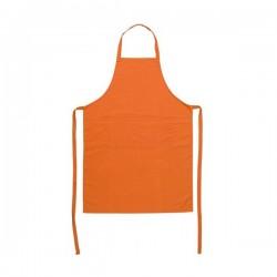 Grembiule in silicone arancione - Pavoni