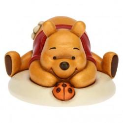 Winnie The Pooh giocoso con coccinella portafortuna - Thun