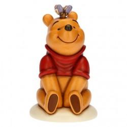 Winnie The Pooh amichevole con farfalla - Thun