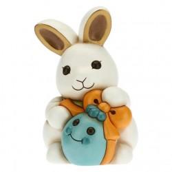 Coniglio Joy adorabile con uovo azzurro - Thun