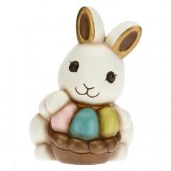 Coniglio Joy con inseparabili uova colorate - Thun