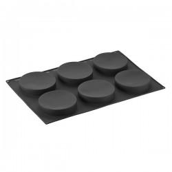 Stampo in silicone 6 porzioni Pavonflex per inserti - Pavoni