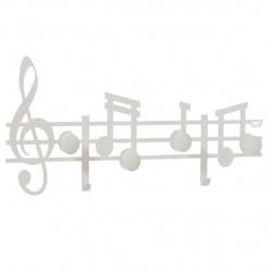 Appendiabiti Musica, Bianco - Arti e Mestieri