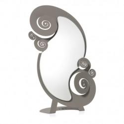 Specchio Circeo Tavolo, Fango - Arti e Mestieri