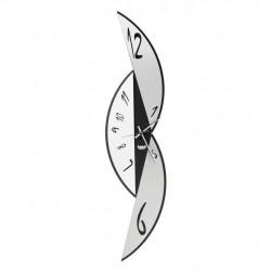 Orologio Sharp, Nero e Bianco Marmo - Arti e Mestieri