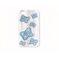 Guscio smartphone farfalla blu - Thun