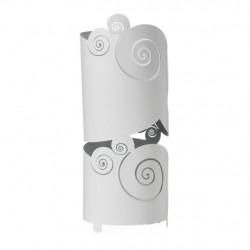 Porta Ombrelli Circeo, Bianco Marmo - Arti e Mestieri