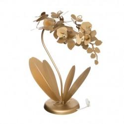 Lampada Orchidea Piccola, Oro Trasparente - Arti e Mestieri