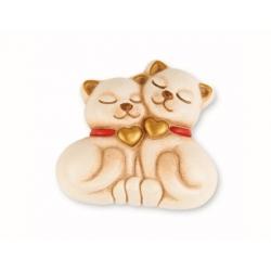 Magnete coppia gatti - Thun