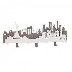 Appendiabiti New york, Bianco marmo - Arti e Mestieri