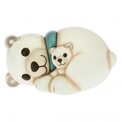Orso polare con cucciolo - Thun