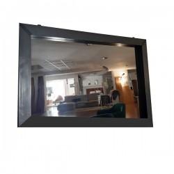 Specchio con cornice in ferro - Grattoni