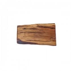 Tagliere con fresata in legno di olmo italiano - Grattoni