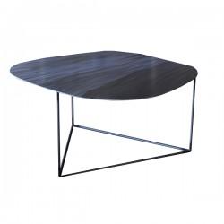 Nu Vo La, tavolino medio in ferro flexato - Grattoni