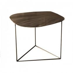 Nu Vo La, tavolino piccolo con effetto ottone - Grattoni