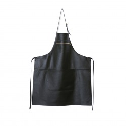 Grembiule Zipper Style Nero - Dutchdeluxes