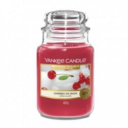 Cherries On Snow, Giara Grande - Yankee Candle