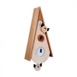 Orologio con cucù uccellini - Pirondini