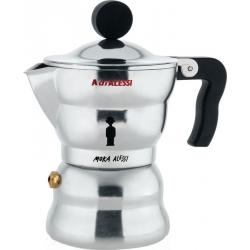 Moka Alessi, Caffettiera Espresso. Tazze n°3 - Alessi