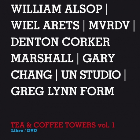 Design Interviews - Tea & Coffee Towers vol.2, Libro/DVD