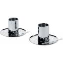 CFF CP, Set di due tazze da caffè con sottotazza - Alessi