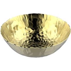 Joy n.11, Cestino rotondo oro - Alessi