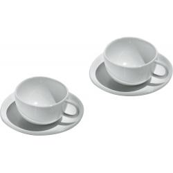 Fruit basket, Set di due tazze da caffè con sottotazza - Alessi