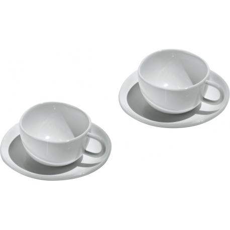 Fruit basket, Set di due tazze da caffè con sottotazza