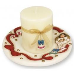 Portacandela con candela - Thun