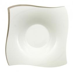 NewWave Premium Platinum Piatto fondo 25x25cm - Villeroy & Boch