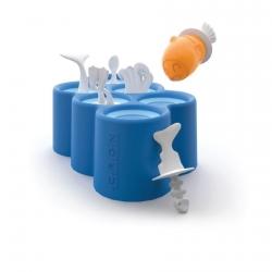 Zoku Fish Pop Mold. Stampo per 6 ghiaccioli pesce