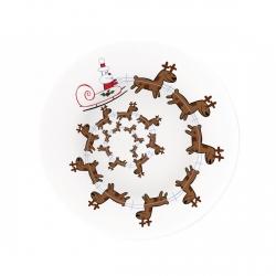 Christmas Spiral, Piatto per panettone - Alessi