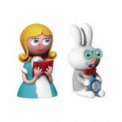 """""""Alice & The White Rabbit"""", Statuine - Alessi"""