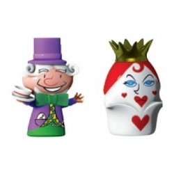 """The Hatter & The Queen of Hearts"", Statuine - Alessi"