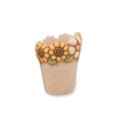 Vaso per fiori medio girasoli - Thun