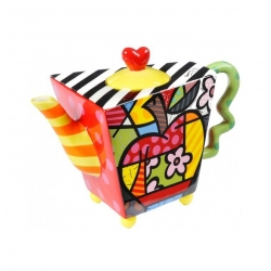 Teiera Apple - Romero Britto